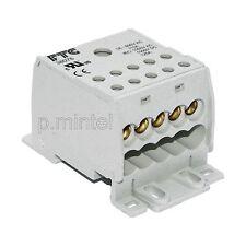 FTG 38076 Verteilerblock 125A 1-pol. Klemmstein 1x35mm²/10x16mm²