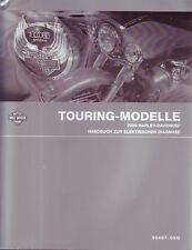 Harley-Davidson Handbuch elektrische Diagnose Touring 2008 deutsch Buch FLT FLH