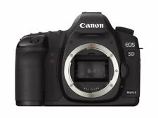 [EXC+++++] Canon EOS 5D Mark II 21.1MP Digital SLR Camera Black Body (N154)