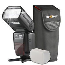 KF-882N I-TTL Speedlite Flash 1/8000s HSS Wireless Master/Slave for Nikon DSLR