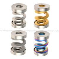 ROCKBROS Titanium Rear Coil Spring Suspension Rear Shock Shox for Brompton
