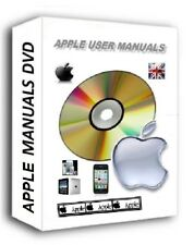 USER MANUALS GUIDE DVD APPLE TV IPAD + MINI IPOD 4-7TH IPHONE 3 4 5 SE 6 6+ 7 7+