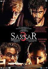 Sarkar 3 (Hindi DVD) (2017) (English Subtitles) (Brand New Original DVD)
