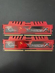 G.SKILL 8GB (2 x 4GB) DDR3 1600HMz (PC3 12800) Memory Intel XMP Ready