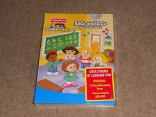 FISHER PRICE - LITTLE PEOPLE ABCs AND 123s MUSIC DVD CD BOXSET * NEW / SEALED