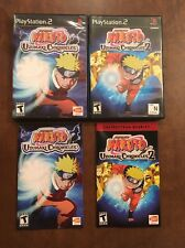 PS2 Naruto: Uzumaki Chronicles 1 And 2 Complete 2-Game Lot w/ Manuals (Tested!)