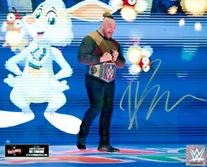 WWE BRAY WYATT HAND SIGNED AUTOGRAPHED OFFICIAL LICENSED WWE WM36 PHOTO /36