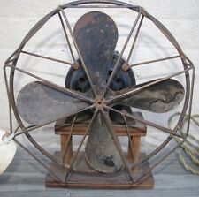 """Westinghouse Style Number 162631A Vintage 10"""" Fan AC Motor Industrial Steampunk"""