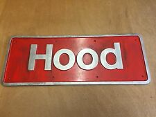 British Rail  Class50 Hood 50031 Name Plate Removed From Loco Condition Replica