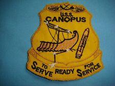 Patch Westpac 66-67 Uss Canopus Simon Lake - Submarine Tender As 34