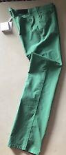 NWT $540 Salvatore Ferragamo Mens Pants Jeans Green 38 US ( 54 Eu ) Italy