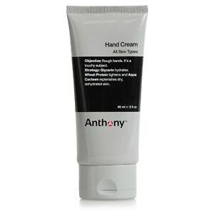 Anthony Hand Cream, 3 Fl Oz. Contains AHA's, Coconut Oil, Shea, Glycerin