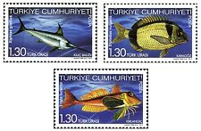 TURKEY 2011, FISHES IN OUR SEAS, MNH