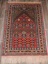 3x5ft. Turkish Melas Wool Tribal Prayer Rug  OBO