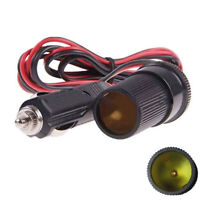 Car 12V Cigarette Lighter Plug Socket Extension Cable Power Wire Cord 3A 3 Meter