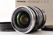 【TOP MINT+ IN BOX】Carl Zeiss Distagon T* 25mm F/2.8 ZF MF Lens F Mount + Hood JP