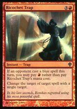 Ricochet trap foil   nm   worldwake   Magic mtg