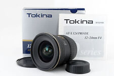 Tokina AF 12-24mm f/4 AT-X Pro SD IF DX Nikon w/Box from Japan [Exc+++] #796325A