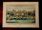 Boxing, 1811 Cruikshank, The Great Match Between Randal & Martin Boxing
