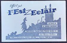 Buvard L'est Éclair / Journal / Presse / Blotter