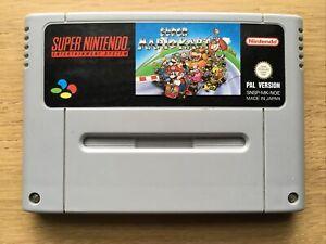Super Mario Kart Super Nintendo Snes Game Cart Only PAL UK EUR