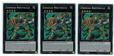 3UDS. zoodiak-breitbulle mp17-de206,Secret Rare,MINT,1ª edición,playset Alemán