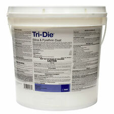 Tri-Die Silica & Pyrethrum Dust 5 Lbs Quick Kill BedBugs Ants Roaches Bees Wasp