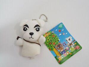 """Animal Crossing K.K. Slider Finger Puppet POPY 2006 TAG keychai 3.5"""" Toy Plush"""
