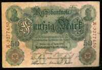 ALLEMAGNE  50  mark 1910   ( 3277450 )