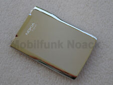 Original Nokia E71 E 71 Akkudeckel | Battery Cover | Deckel in Steel White NEU