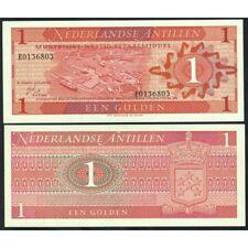 NETHERLANDS ANTILLES  1 Gulden 1970 UNC P 20