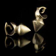 Brass Ear Weights 4mm Gauge Jewelry Stretched Lobe Jewellery (Code 12)