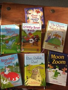 Usbourne Very First Reading Books X 6 & Parents Guide. EYFS/ KS1