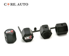 4*VXR Metal Auto Wheel Valve Caps for ADAM Viva Corsa Meriva