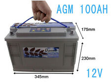 Bateria AGM U-POWER SP 100AH 12V Battery solar Fotovoltaica