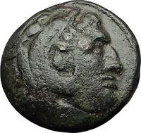 KASSANDER killer of Alexander the Great son Ancient Greek Coin Horse  i59397