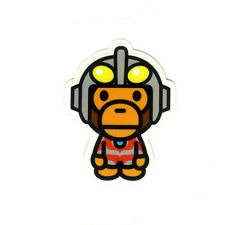 Ultraman x Baby Milo bape Japan Imports 7cm PVC waterproof DECAL STICKER #1519