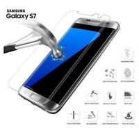 For Samsung Galaxy S7 100% Genuine Tempered Glass Screen Protector Clear