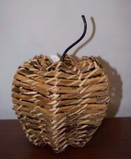 NEW Pottery Barn Natural Woven Pumpkin Vine Fall Autumn Thanksgiving SOLD OUT