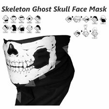 Skeleton Ghost Skull Face Mask For Biker Balaclava Call of Duty COD Costume Game