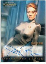STAR TREK VOYAGER PROFILES A7 JERI RYAN AS SEVEN OF NINE 7 OF 9 AUTOGRAPH