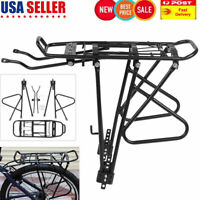 Back Rear Rack Mountain Bike Bicycle Seat Post Carrier Holder Luggage Rack