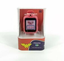 iTouch PlayZoom DC Comics Pink Wonder Woman Children Smartwatch Design NWT New