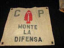 WWII USA / CANADIAN 1 ST SPECIAL SERVICE FORCE MONTE LA DIFENSA BARRACKS  FLAG