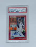 2018 Panini Contenders Optic DeAndre Ayton Rookie Auto RED /149 PSA GEM MINT 10
