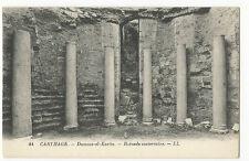 Tunisia - Carthage, Damous-el-Karita, Rotonde Souterraine - 1920's Postcard