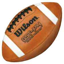 Wilson GST Practice Football Official Game Size Ball NFL (1003 Pattern), New