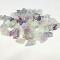 1/4 Natural FLUORITE  Purple. Green, Blue White Gemstone Rough