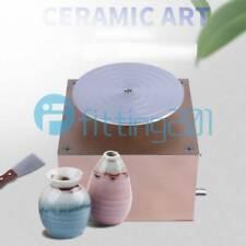NEW DIY Mini Clay Ceramic Art Machine Electric Pottery Making Machine 12V