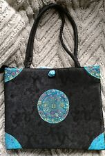 Asian purse bag 11x12.5 in shoulder bag tote 3B